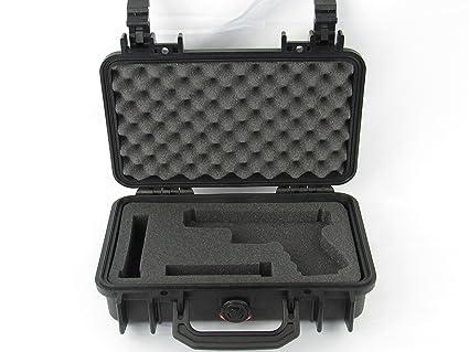 amazon com pelican case 1170 with custom foam insert for glock 19