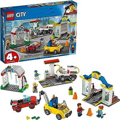 LEGO City Garage Center 60232 Building Kit (234 Pieces): Toys & Games