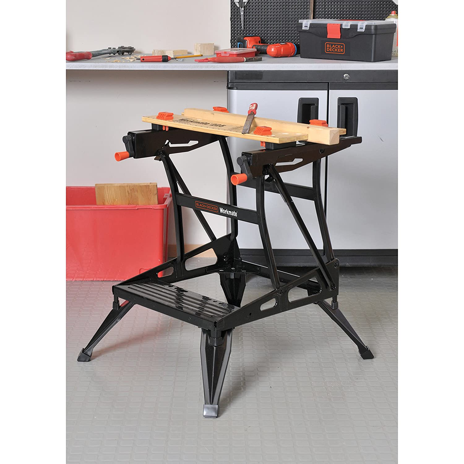 Black and decker workmate 1000 review - Black Decker Wm225 Workmate 225 450 Pound Capacity Portable Work Bench Workbenches Amazon Com