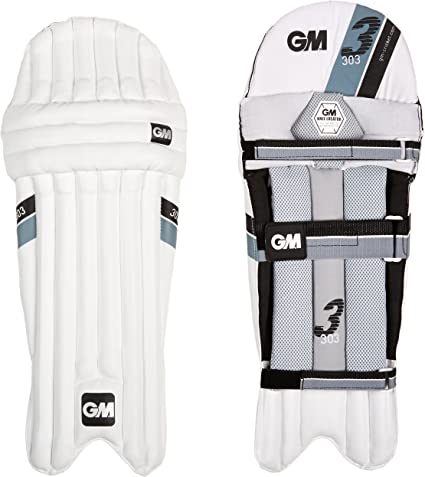 Gunn /& Moore 303 Leg Guard Ambidextrous Cricket Sport Batting Protective Pads