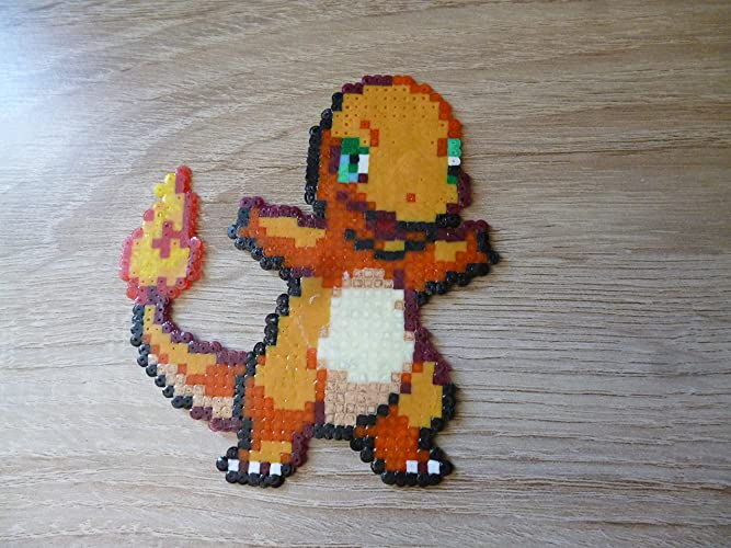 Sprite Charmander Pokemon Hama Beads Pixel Art Amazon De