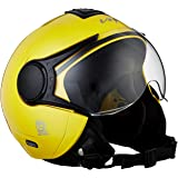 Vega Verve Open Face Helmet (Women's, Yellow, M)