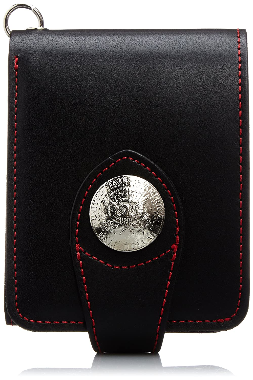 [イギンボトム] 短財布 日本製 国産牛革(ヌメ革) IGO-104 B00LL4XZAG  ブラック