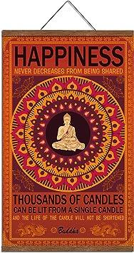 Amazon.com: WEROUTE Buda arte de pared arte Zen Decor ...