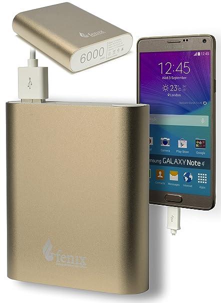 Amazon.com: Fenix – Mini cargador portátil 6000 mAh Banco de ...