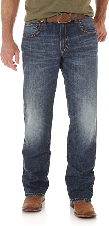 Wrangler Mens Mens Retro Relaxed-fit Bootcut Jackson Hole Jean Jeans