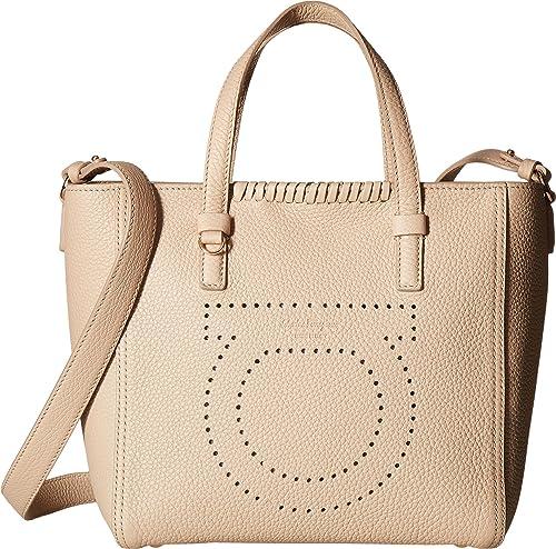 Amazon.com: Salvatore Ferragamo Womens Marta 21G715 Macadamia One Size: Shoes