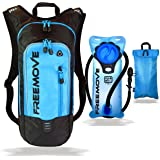 No.1 Hydration Pack Backpack with 2L Water Bladder & Cooler Bag KEEPS DRINK COOL | Lightweight - Fully Adjustable - Leakproof | Multiple Compartments | 6L Capacity | Camel Pack For Sports Enthusiast