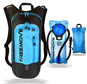 Amazon.com: No.1 Hydration Pack Backpack with 2L Water Bladder ...