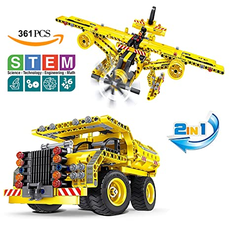 Building Toys Gifts For Boys Girls Educational STEM Learning Sets 7 8