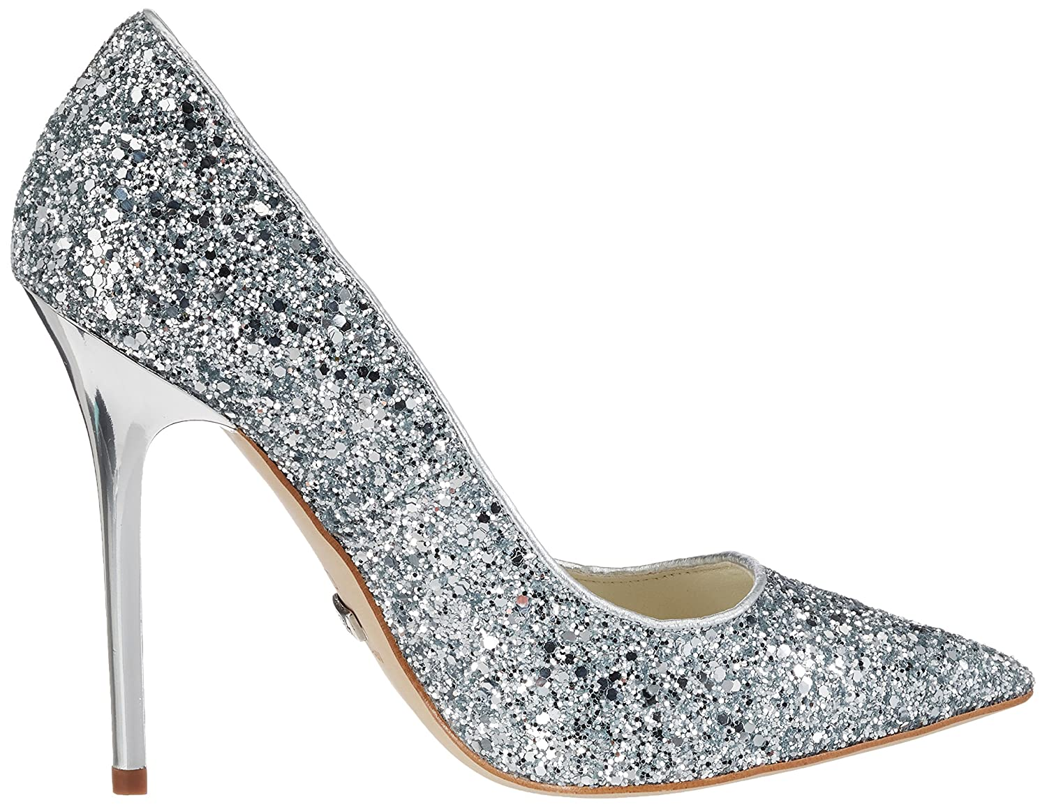 Womens 11335-269 L Glitter Closed-Toe Pumps Buffalo