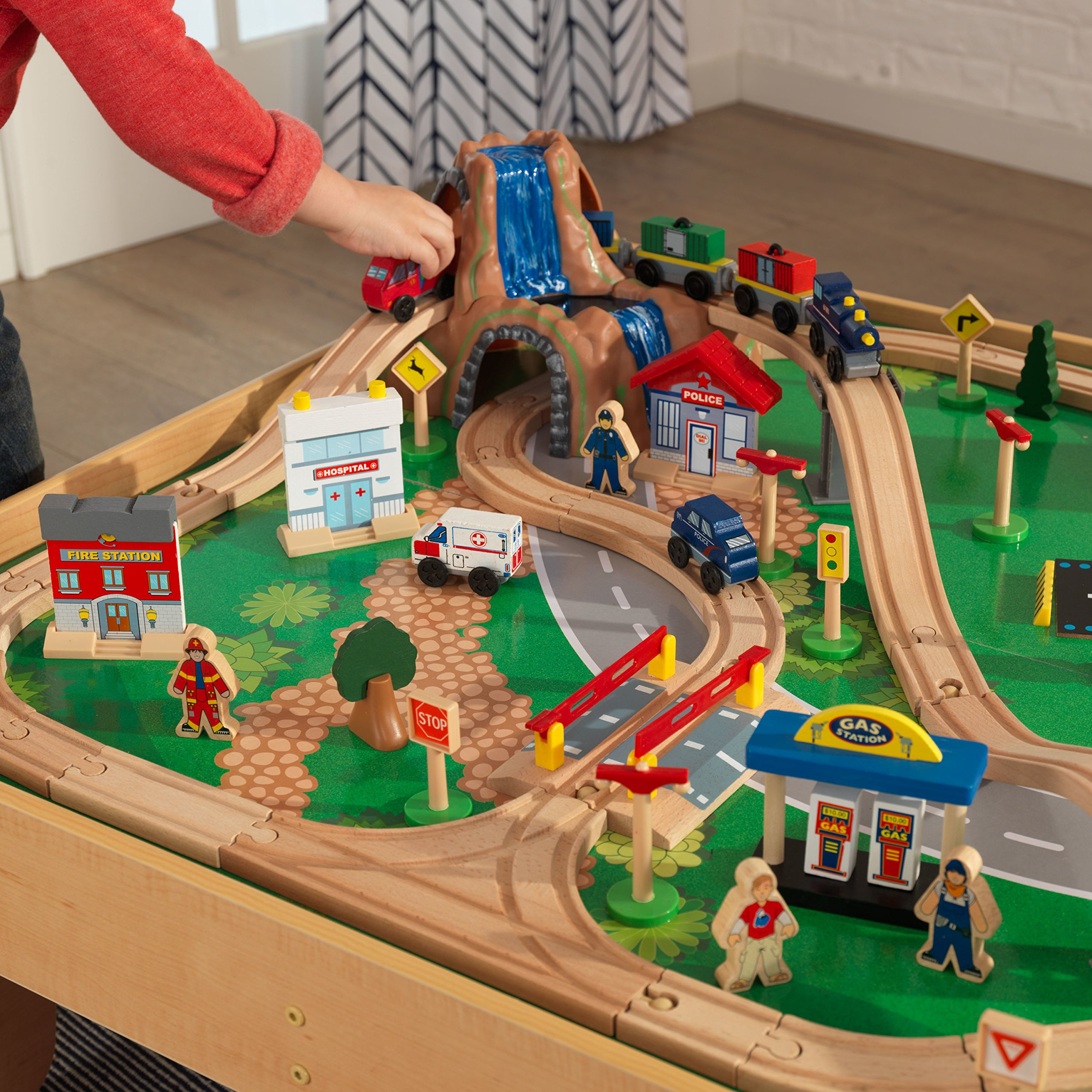 KidKraft Waterfall Mountain Train Set and Table by KidKraft (Image #11)