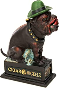 Design Toscano Spike The English Bulldog Authentic Foundry Iron Bank