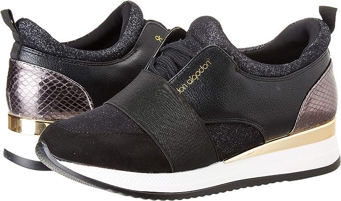 DON ALGODON S301, Zapatillas para Mujer, Plata, 36 EU: Amazon.es: Zapatos y complementos
