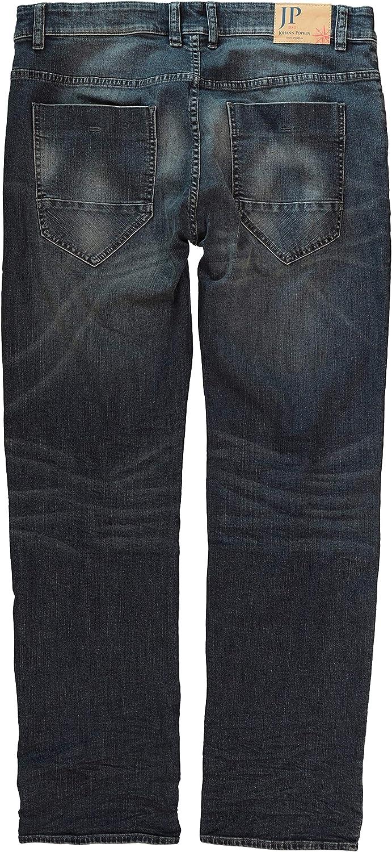 Stretch 716790 JP 1880 Homme Grandes Tailles Jean Regular d/élav/é Coupe Droite