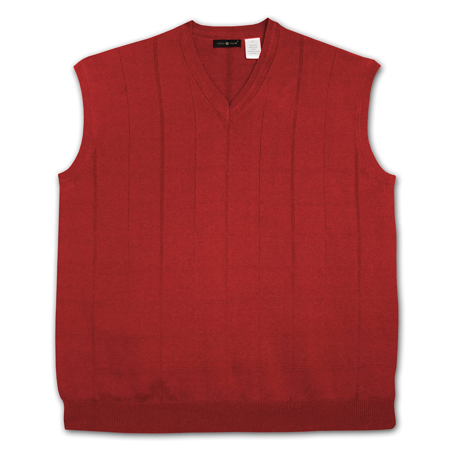 Amazon.com: Cotton Traders V-Neck Pullover Sweater Vest: Clothing