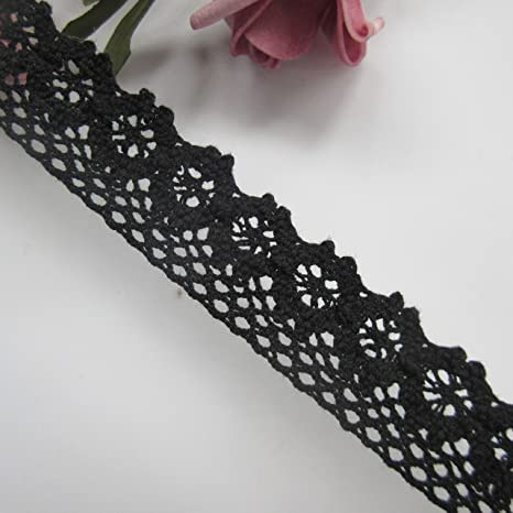 10 Yards Embroidered Lace Trims Colored Wedding Dress Applique DIY Sewing Craft
