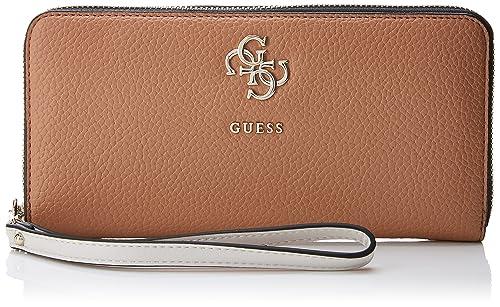 Guess - Slg Wallet, Carteras Mujer, Varios colores (Tan Multi), 2x10x21 cm (W x H L): Amazon.es: Zapatos y complementos