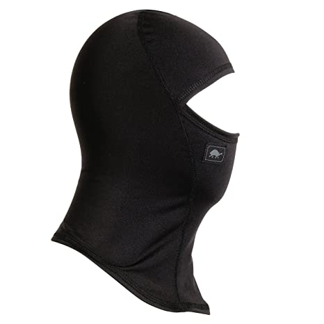 Turtle Fur Kids Comfort Shell UV Ninja Face Mask Lightweight Balaclava Black