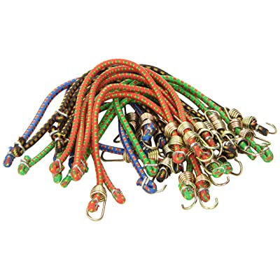 "Highland (9052000) 10"" Mini Bungee Cord - 20 Piece: Automotive"