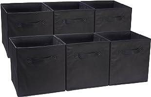 AmazonBasics–Cubos de Almacenamiento Plegable