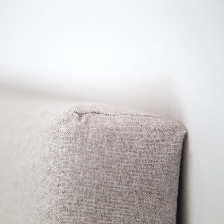105/x 7.5/x 80/cm Beige Polyester Decowood dcw05/t/ête Lisse