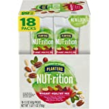 NUT-rition Heart Healthy Nut Mix (18 ct Box, 1.5 oz Packs) - Variety Nut Mix with Peanuts, Almonds, Pistachios, Pecans, Hazel