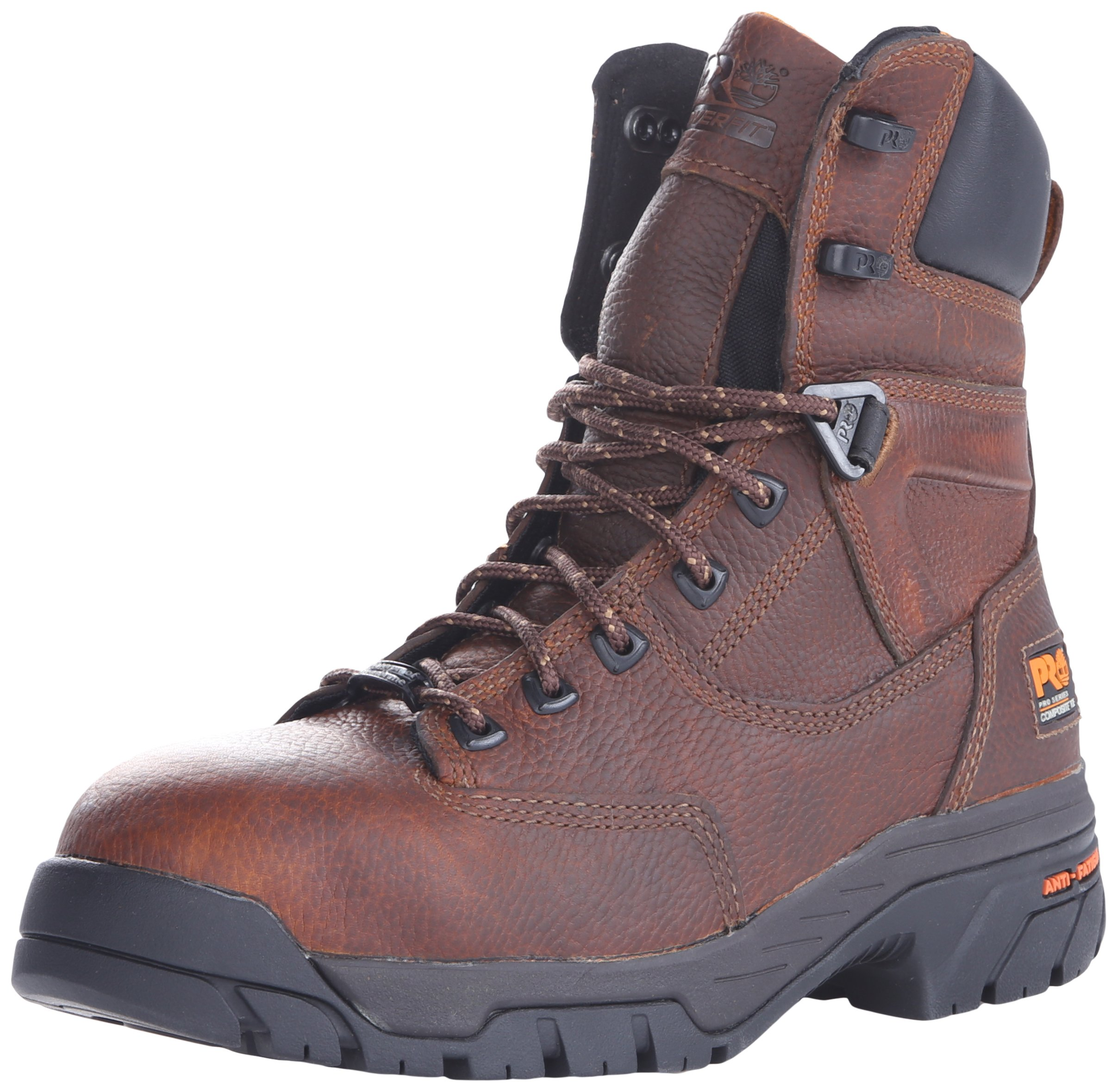 Timberland PRO Men's Helix 8 Inch Comp Toe Work Boot,Brown,12 M US