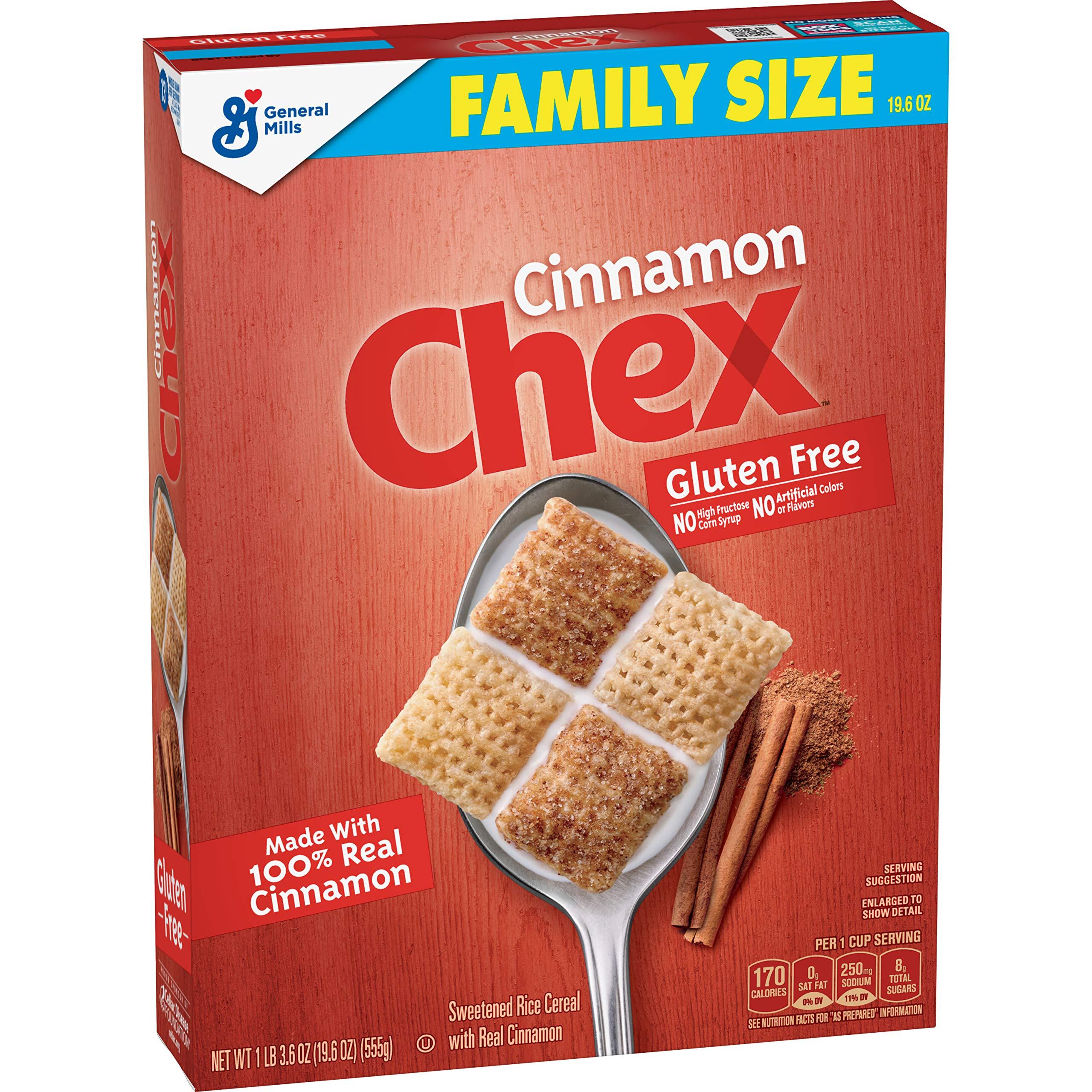 Chex Cereal, Cinnamon, Gluten Free, 19.6 oz