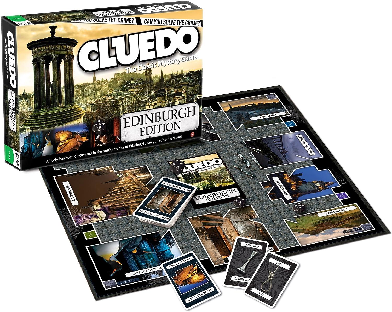 Cluedo - Juego de Mesa, de 2 a 6 Jugadores (Winning Moves 21463) (versión en inglés): Amazon.es: Juguetes y juegos