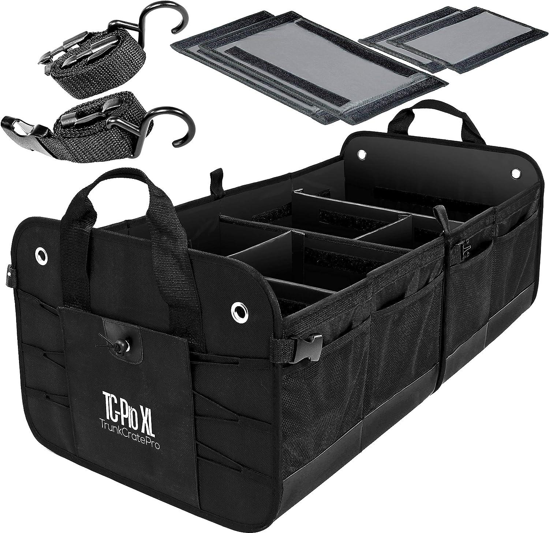 TRUNKCRATEPRO Multi Compartments Trunk Organizer