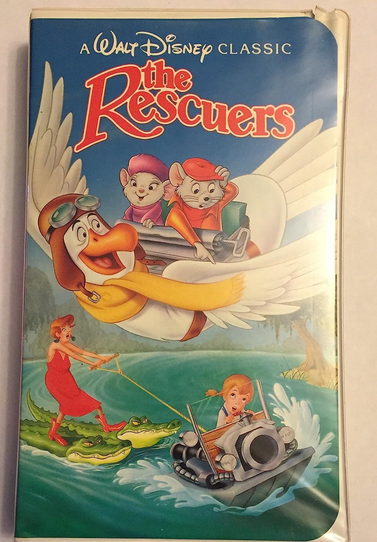 Amazon Com Walt Disney S The Rescuers Rare Black Diamond Classic Vhs Tape Home Audio Theater