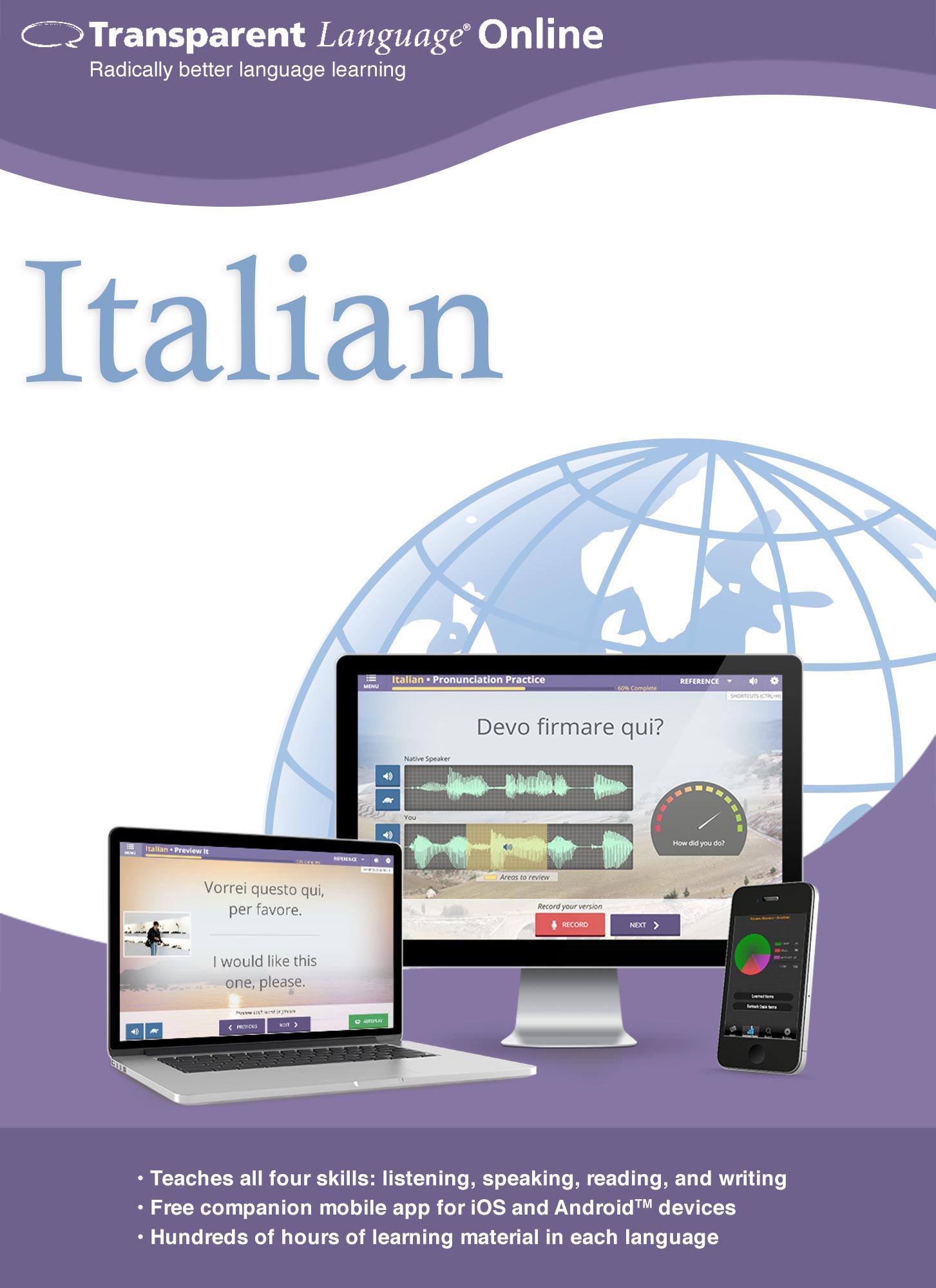 Transparent Language Online - Italian - 12 Month Subscription for Mac [Online...