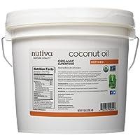 Nutiva Organic Coconut Oil, Refined, 1 Gallon(3.79L)