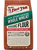 Bob's Red Mill, Organic Flour, Whole Wheat, 5 lb