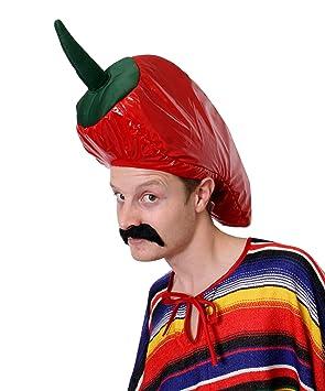 mexican fancy dress chilli pepper hat fancy dress hat novelty food