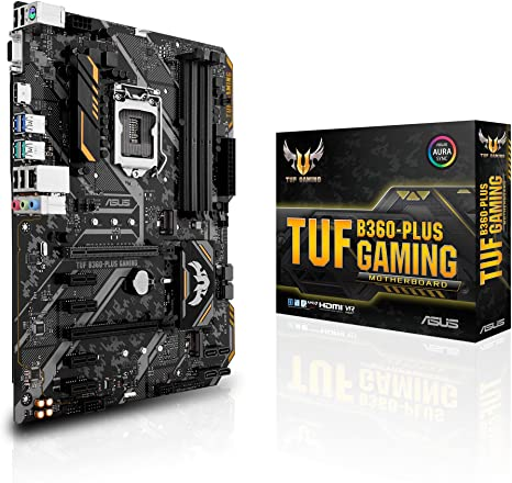 ASUS TUF B360-PLUS Gaming Scheda Madre Gaming Intel B360 con ...