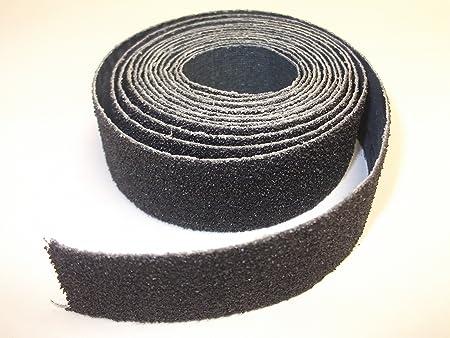 Innovo 10 Metres 150 Grit Fine Blue Emery Roll Cloth Paper Aluminium Oxide Roll Wood Plastic Metal Sanding 25mm