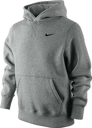 2444e559debb Nike Boys Grey Fleece Hoodie Size XL Ages 13-15 years  Amazon.co.uk   Clothing