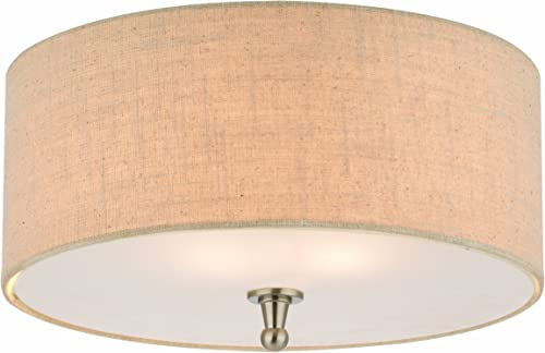 Thomas Lighting M271878 Allure Ceiling Lamp, Brushed Nickel