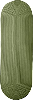 product image for Colonial Mills Boca Raton Runner Rug 2x7 Moss Green