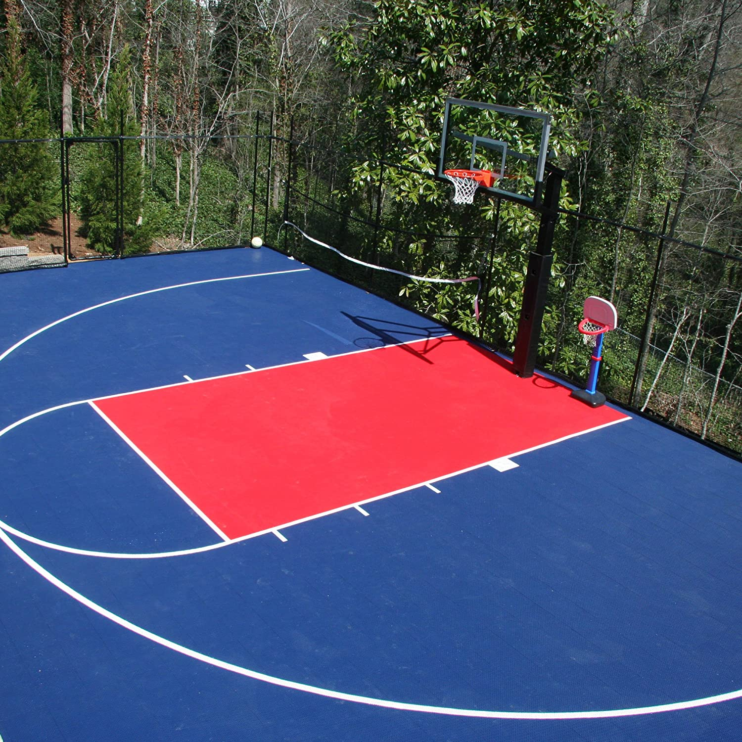 IncStores Outdoor Sports Tile Basketball Court Flooring