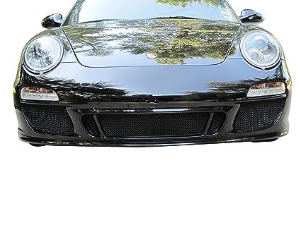 Zunsport Compatible Porsche Carrera 997.2 GTS - Front Grille Set - Black Finish (2009 to