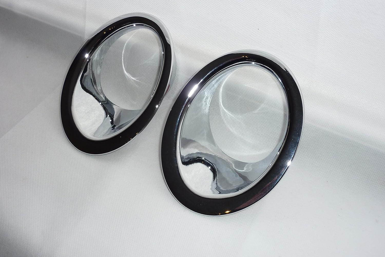Cubiertas de luz antiniebla delantera cromada Connis Limited NQ2007