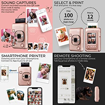 Fujifilm Fujifilm Mini LiPlay, Blush Gold product image 4