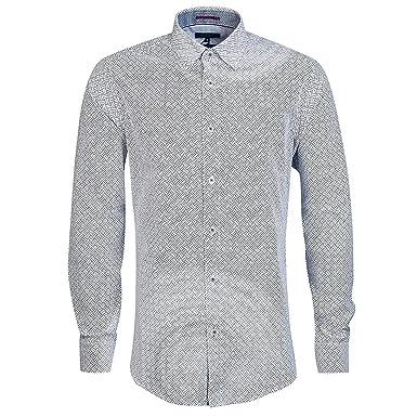 b64108eccaa7ee Ted Baker Men Casual Shirt TA7M GA43 LAROSH Blue  Amazon.co.uk  Clothing