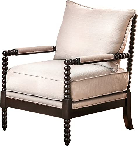 Furniture of America Dedee Accent Living Room Chair