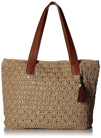 Amazoncom The Sak Unisex Fairmont Crochet Large Tote Bamboo