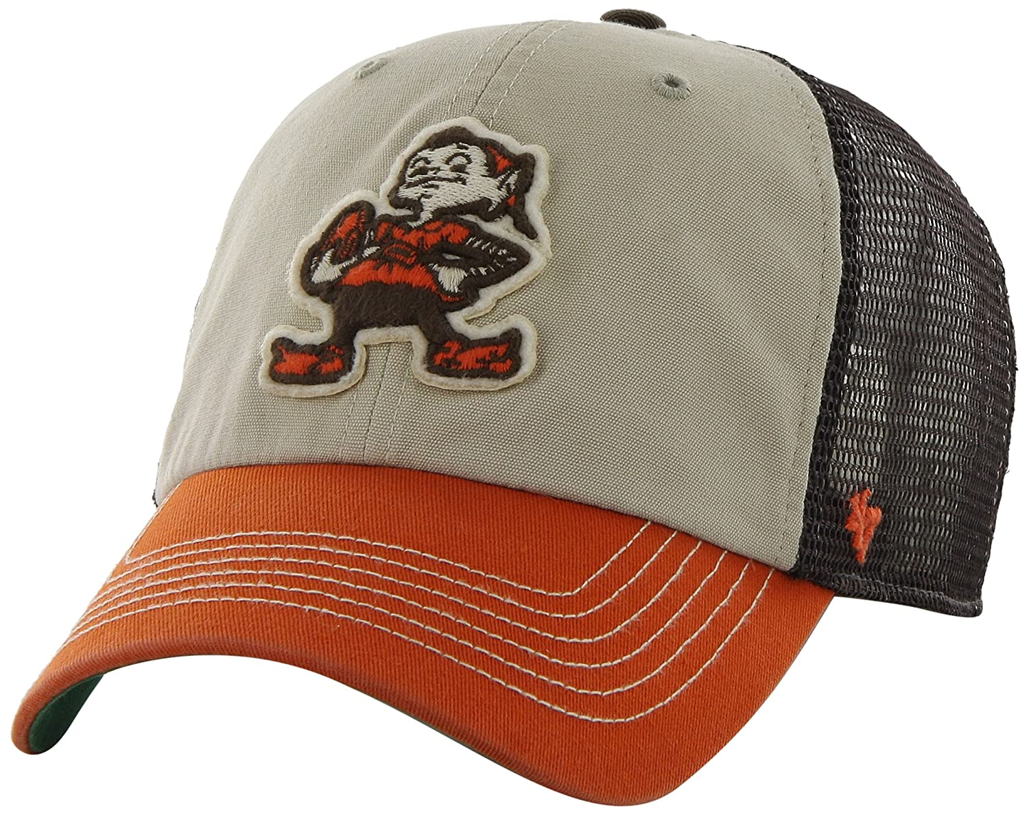 9a12caebf98e2 NFL Cleveland Browns '47 Brand McNally Clean Up Adjustable Hat ...