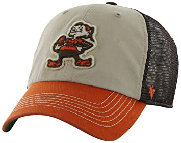 brand new ff969 3387a NFL Cleveland Browns  47 Brand McNally Clean Up Adjustable Hat, Brown, One  Size